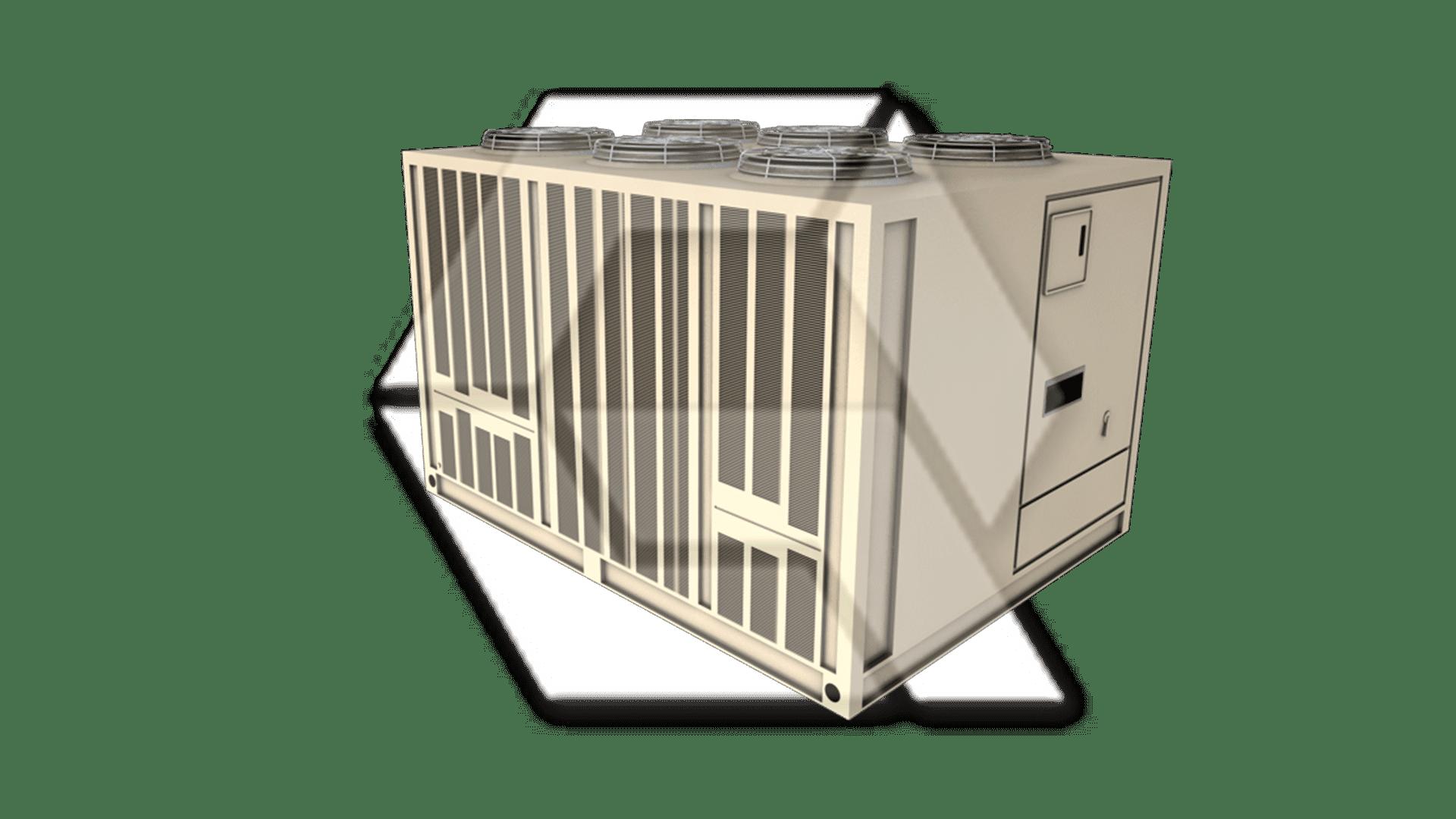 Trane 20-60 Ton Air-Cooled Liquid Chiller Closed