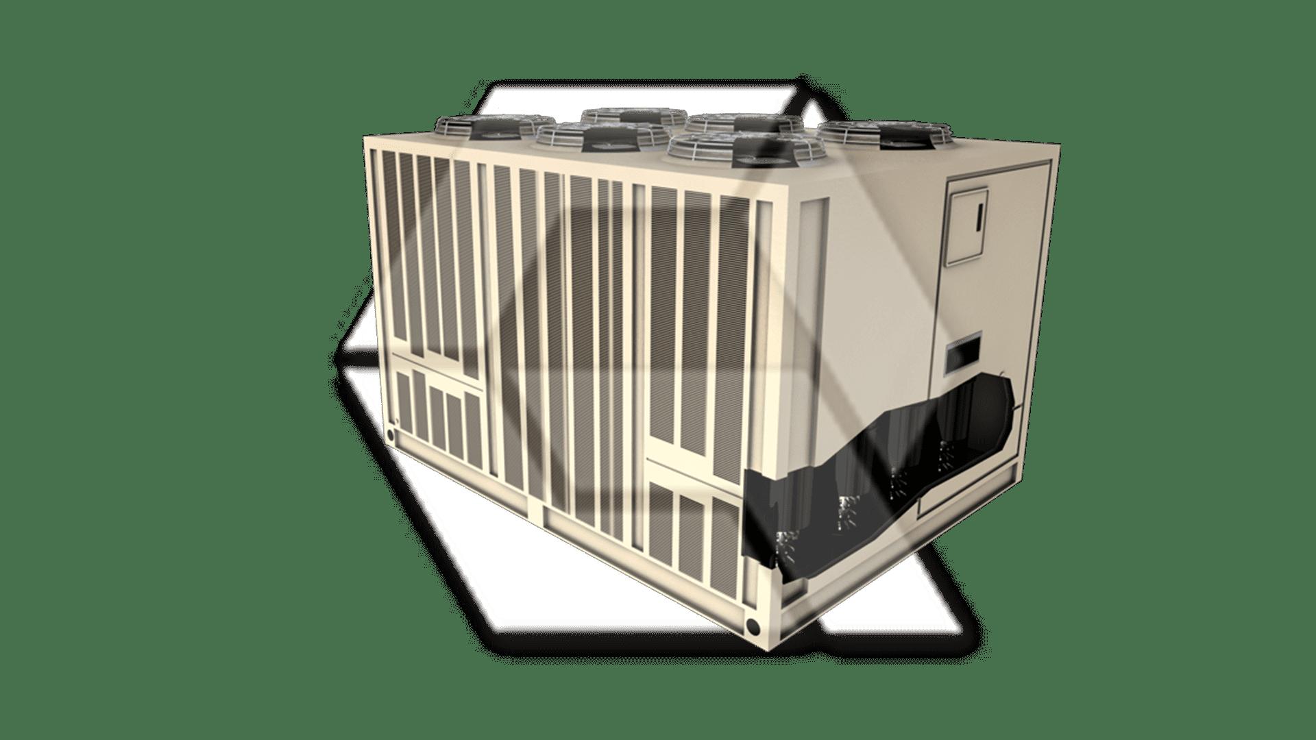 Trane 20-60 Ton Air-Cooled Liquid Chiller Open