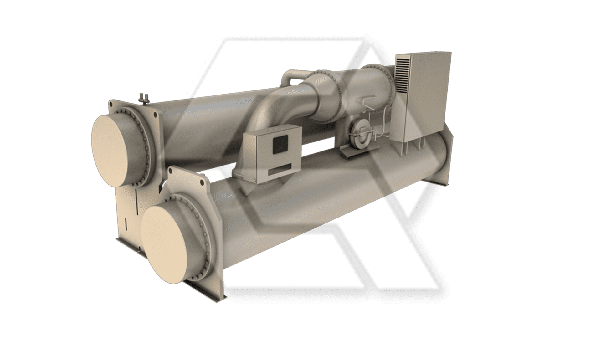 Trane CVGF Centrifugal Water Chiller Closed
