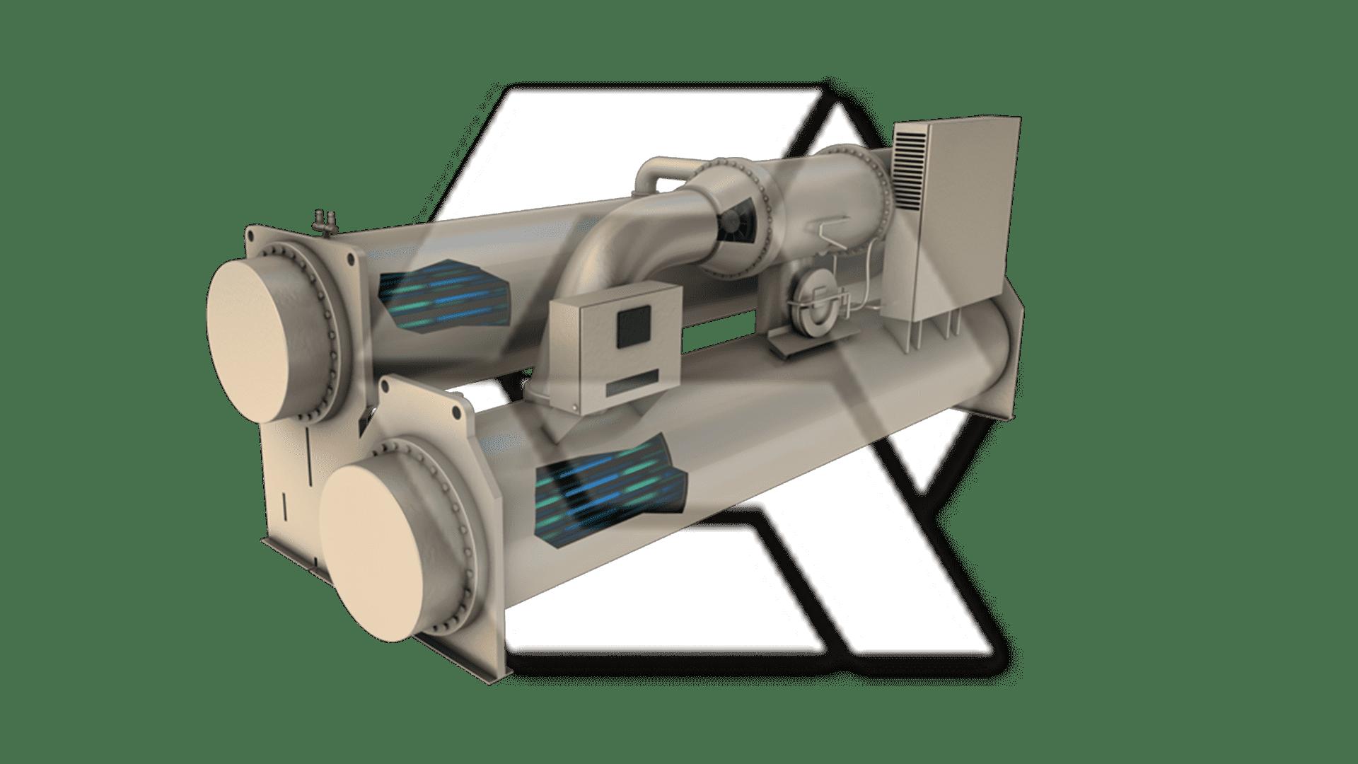Trane CVGF Centrifugal Water Chiller Open