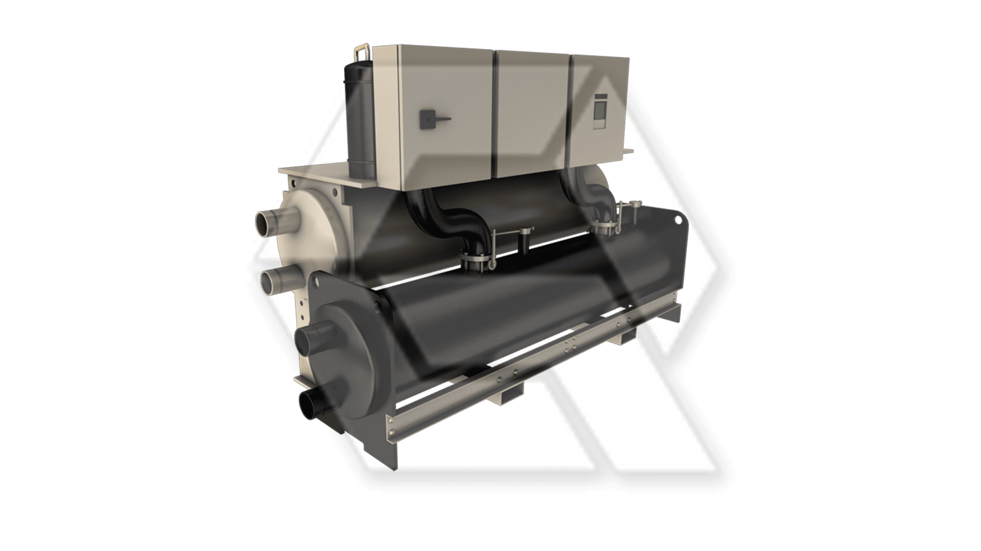 Trane RTUD Series R Liquid Chiller Closed