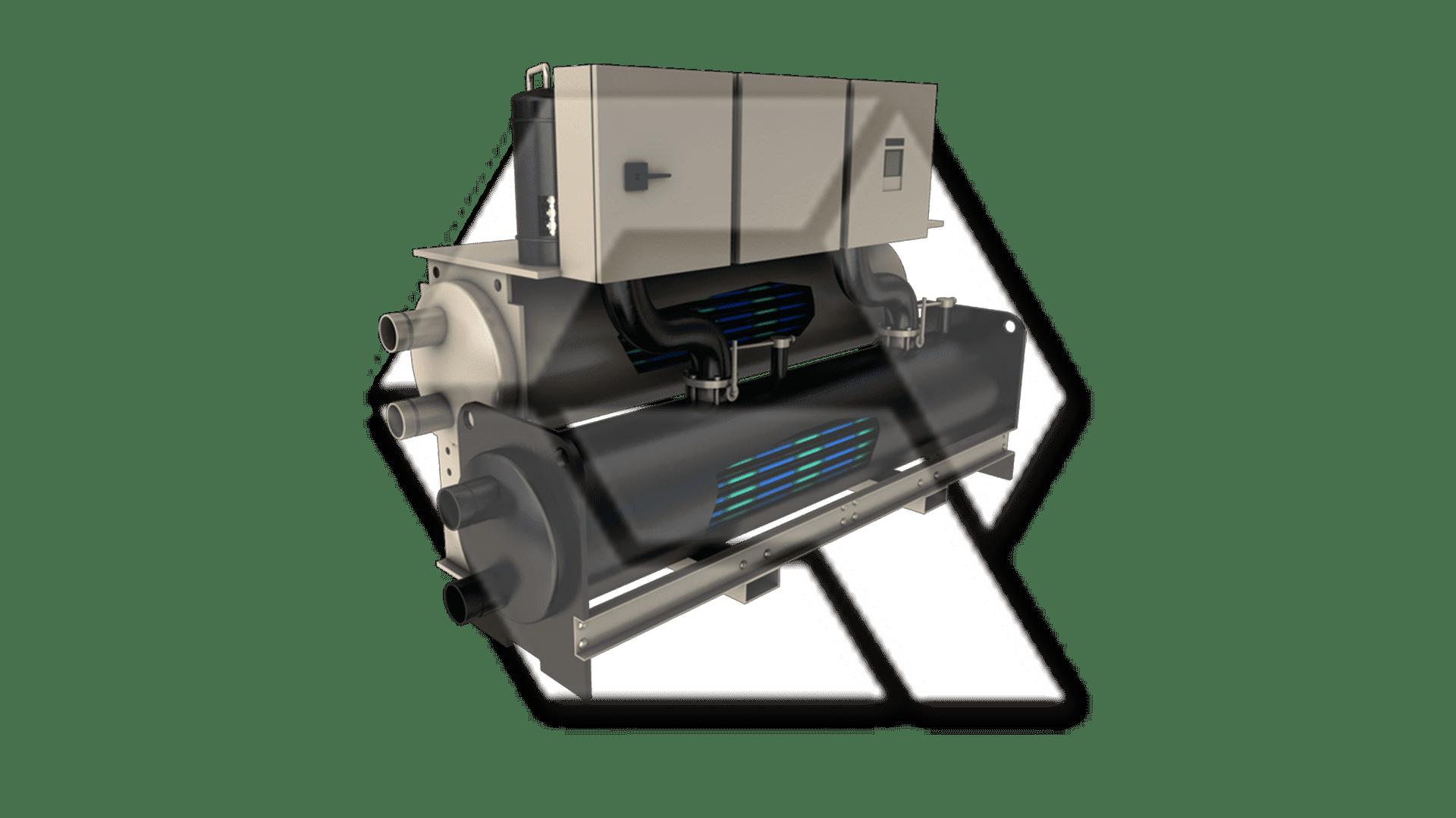Trane RTUD Series R Liquid Chiller Open