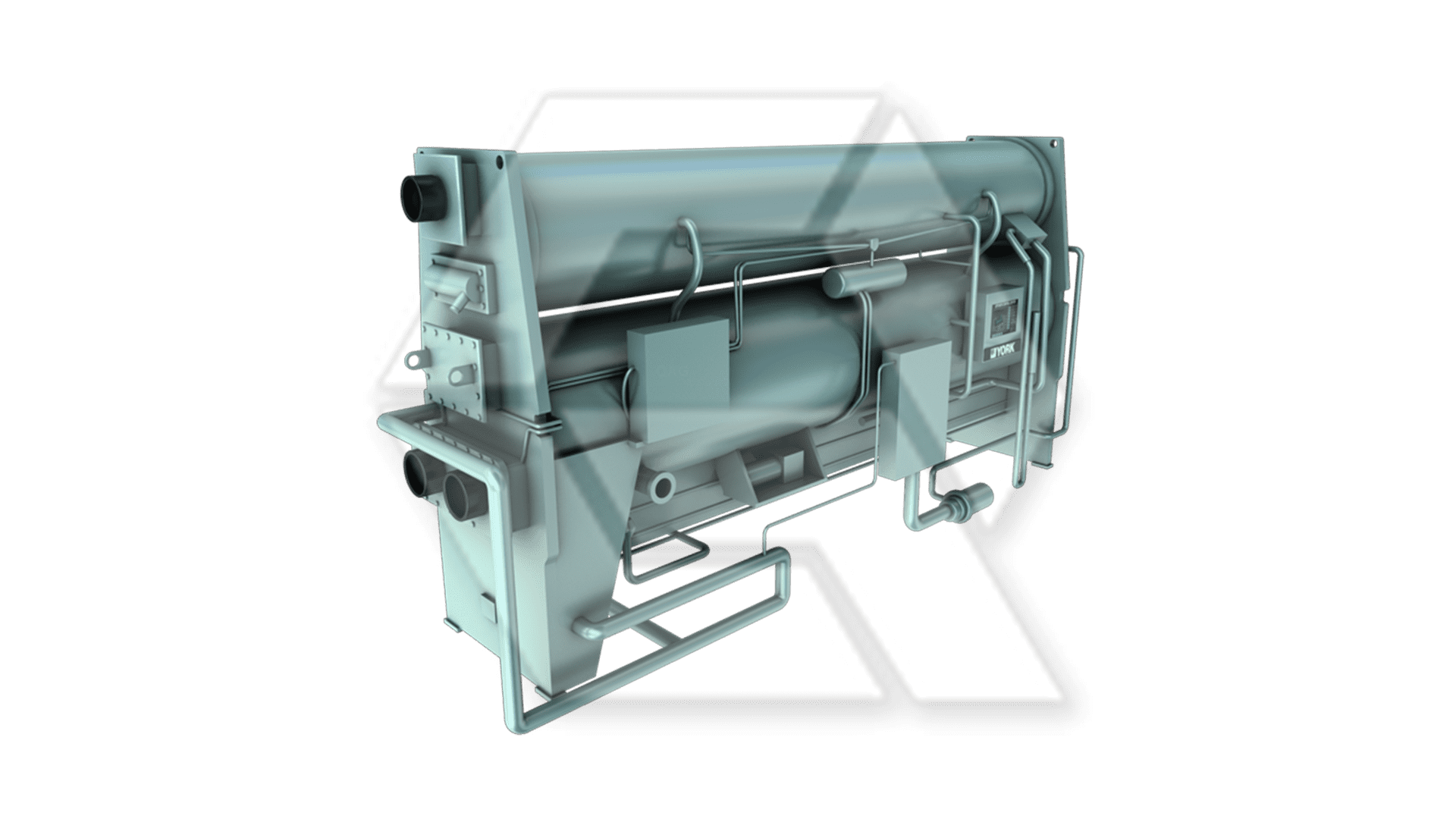 York IsoFlow Single-Stage Absorption Chiller Closed