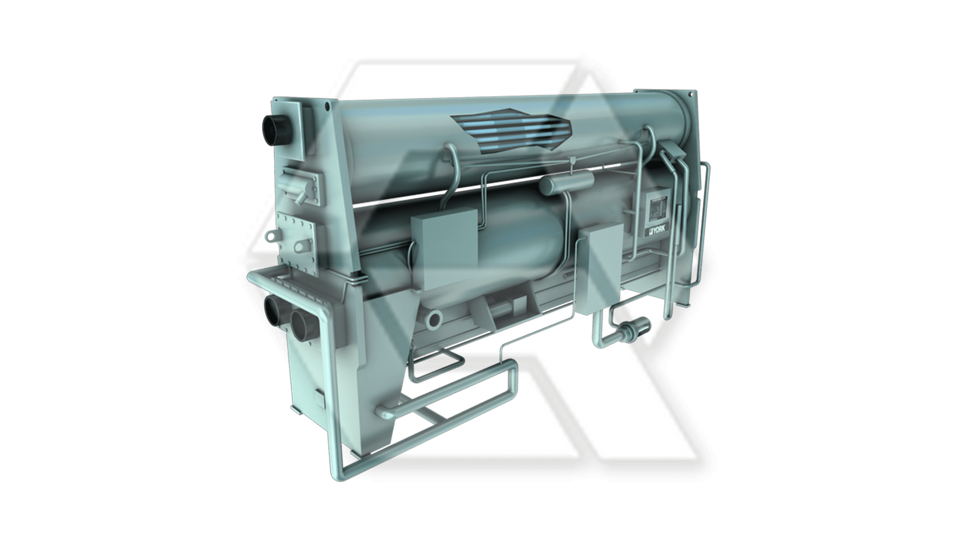York IsoFlow Single-Stage Absorption Chiller Open