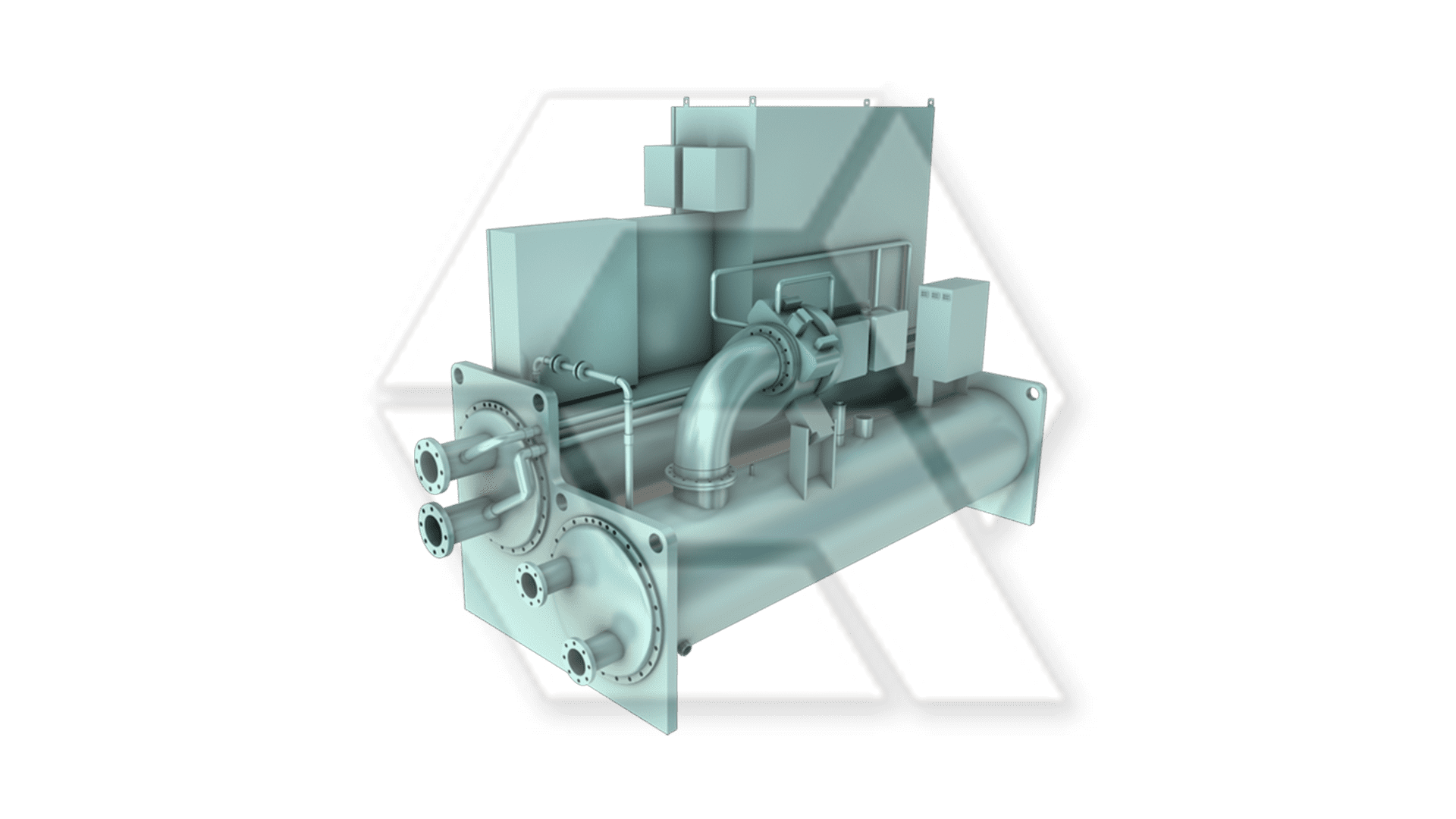 Chillers York YMC Magnetic Bearing Centrifugal Liquid Chiller Closed