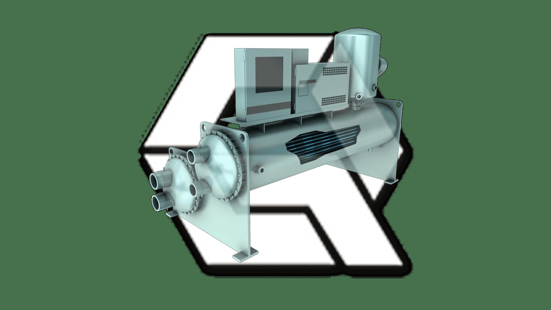 Chillers York YR Twin Screw Compressor Open