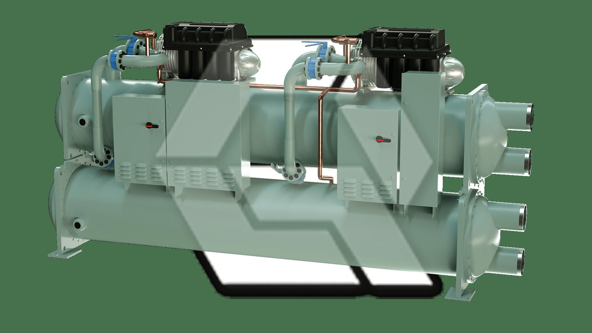 Dual Compressor Chiller 2 Closed