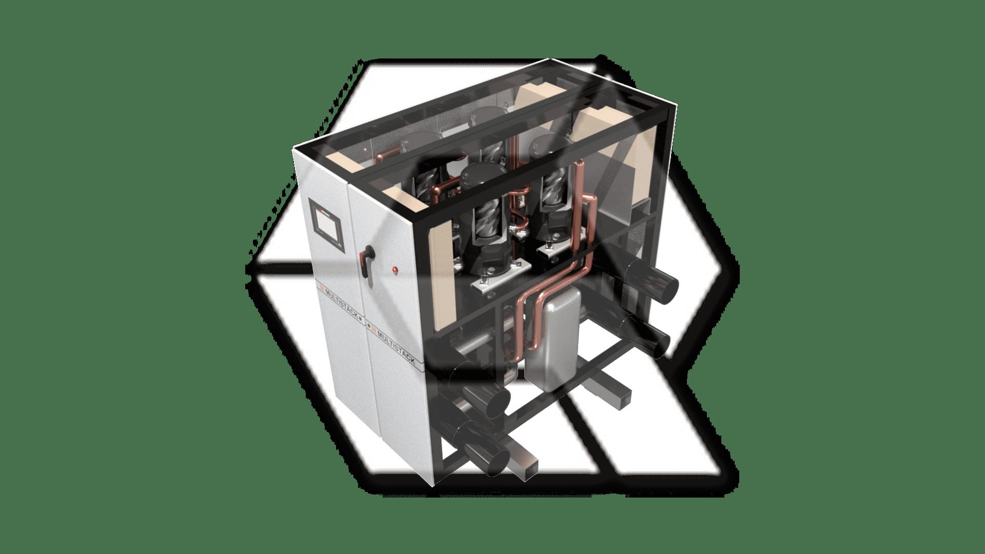 Multistack Water Chiller SCW210 Modular